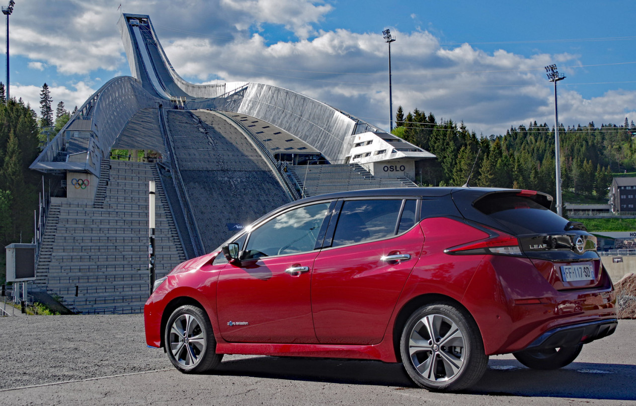 Nissan LEAF e+ First World Test