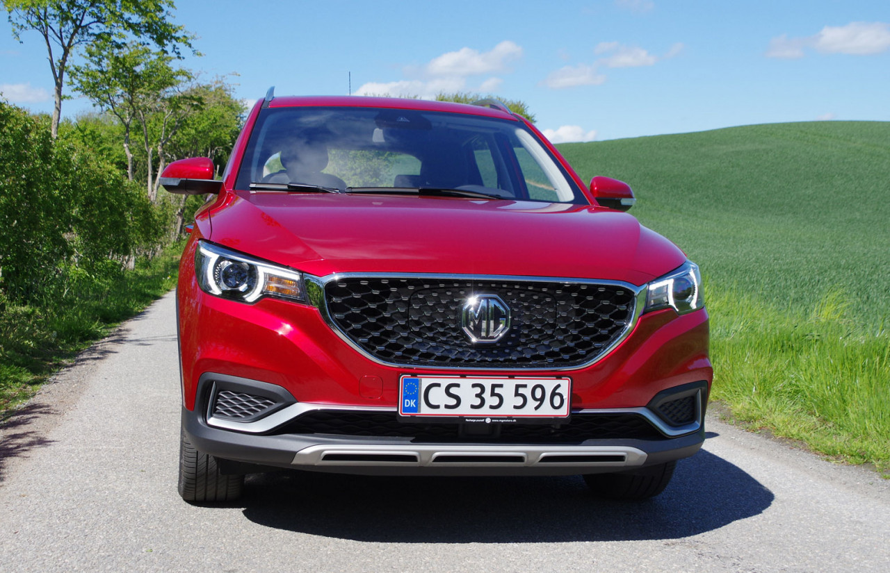 MG Lancering og første test: MG ZS EV Luxury