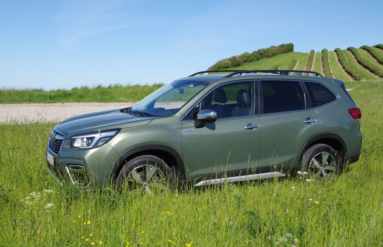 Biltest: Subaru Forester 2,0i e-Boxer Summit AWD