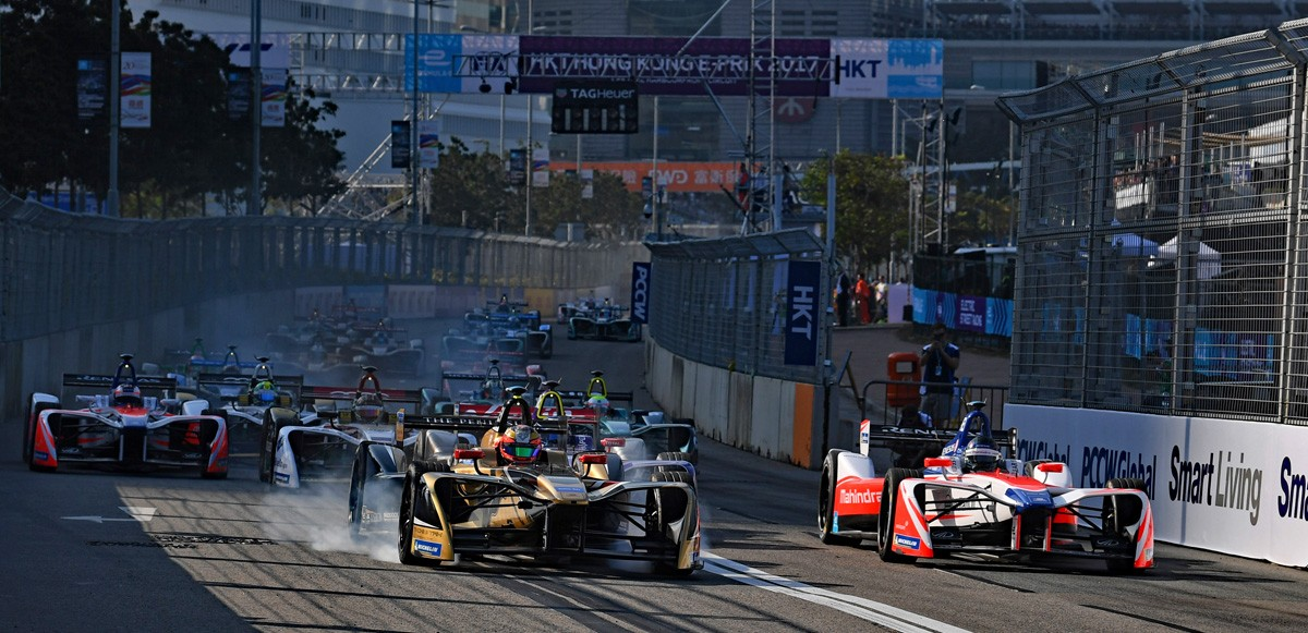 Hong Kong ePrix:DS og Sam Bird vinder Race 1